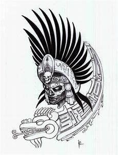 Tribal Warrior Designs Aztec Warrior Stencil Tattooshunt Com Tatuajes
