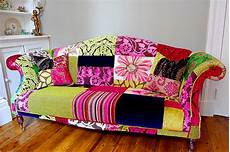 Patchwork Sofa Cover 3d Image by Femme Hub Decorating On The Cheap How To Add Colour To