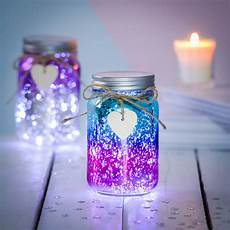 Sparkle Led Jam Jar Light Sparkle Led Ombre Jar By Thelittleboysroom