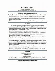 Resumes For Customer Service 31 Free Customer Service Resume Examples Free Template