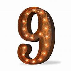 Buy Marquee Lights 24 Quot Number 9 Nine Sign Vintage Marquee Lights Buy