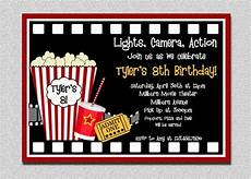 The Invitation Movie Online Movie Birthday Invitation Movie Night Birthday Party Etsy