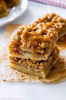 salted caramel apple pie bars sally s baking addiction
