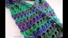 crochet free how to crochet a scarf left handed broomstick lace