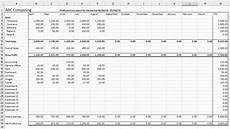 Example P L Statement Excel P And L Statement Template Inspirational Profit And Loss