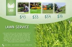 Landscape Flyer Template Copy Of Lawn Service Flyer Template Landscape Green