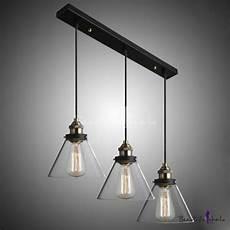 Industrial Pendant Light Philippines 7 09 Quot Glass Shade Industrial Multi Light Pendant Bar