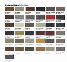 Sem Trim Paint Color Chart Interior Upholstery Paint Gm Chevrolet 2014