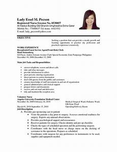 Resume For Nurses Applying Abroad Application Letter Format For Volunteer Nurse Order Custom