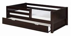 camaflexi size day bed with front guard rail