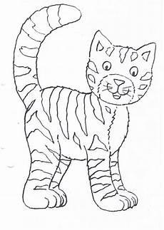 Malvorlagen Katzen Katze Ausmalbild Ausmalbilder Katzen Ausmalbilder