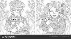malvorlagen malbuch f 252 r erwachsene ausmalbilder mit jungen