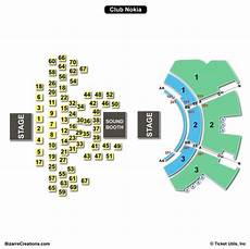 The Harv Seating Chart The Novo Seating Chart Seating Charts Amp Tickets