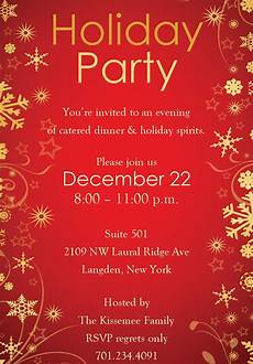 Holiday Party Invitations Template Holiday Invitation Template 17 Psd Vector Eps Ai Pdf