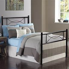 teraves 12 7 high metal platform bed frame with two