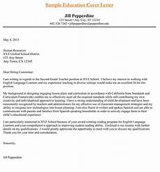 Cover Letter For Teaching Teacher Cover Letter Examples Get The Perfect Teaching Job