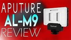 Amaran Led Light Review Aputure Amaran Al M9 Led Light Review Youtube