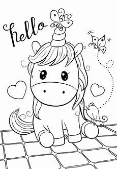 baby unicorn coloring pages for you