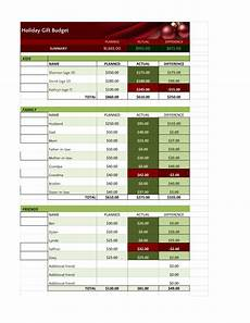 Holiday Budget Template Excel Holiday Budget Template Pdf Google Sheet Excel