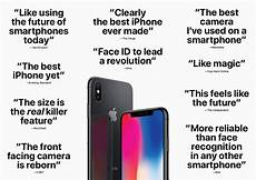 Iphone Xs Wallpaper Quotes by Apple Shares Handpicked Quotes From Early Iphone X Reviews