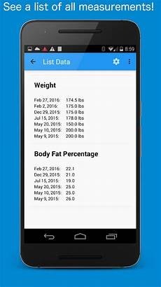 Track Body Measurements App Body Measurement Tracker Android Apps On Google Play