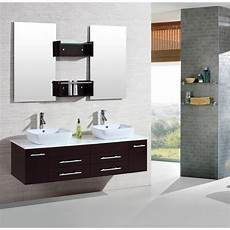 shop kokols 60 inch wall mount floating bathroom vanity