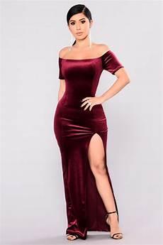 upgrade velvet dress burgundy