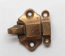 vintage brass small cabinet latch olde things