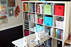 fabric storage and a craft room update taylormade