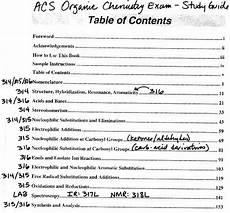Dr Starkey S Chm 316 Organic Chemistry