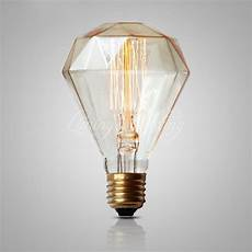 Big Clear Light Bulbs G95 Diamond Edison Bulb 40w 220v Antique Vintage Lamp