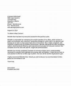 Personal Job Reference Letter Free 6 Sample Employment Reference Letter Templates In
