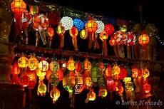 Lanterns And Lights At Chiang Mai Road Loy Krathong Yi Peng And The Mae Jo Mass Sky Lantern