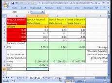 Excel Portfolio Analysis Excel Array Formula Series 14 4 Stock Portfolio Analysis