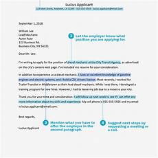 Structure Of A Good Cover Letters How To Structure A Cover Letter
