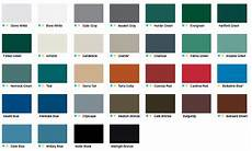 Firestone Sheet Metal Color Chart Color Charts Cheney