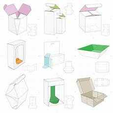 Box Template Design Packaging Template Free Box Templates In Formats Cdr Dxf