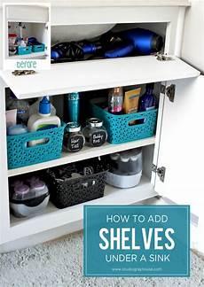 adding shelves in bathroom cabinets gray house studio