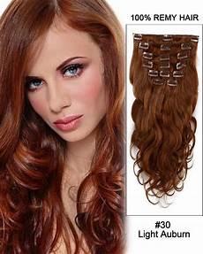 Light Body Hair 14 11pcs 2 Dark Brown Body Wave Clip In Remy Human Hair