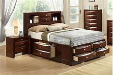 exquisite wood elite platform bed with storage