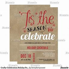 Create Your Own Party Invitations Create Your Own Invitation Zazzle Com Holiday Party