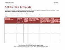 Action Plan Examples 58 Free Action Plan Templates Amp Samples An Easy Way To