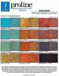 Stained Concrete Colors Chart Pin On Acid Stain Color Charts