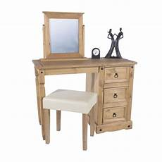 premium corona bedroom furniture pedestal dressing table