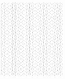 Isometric Graph Paper 4 Free Printable Isometric Graph Paper Template