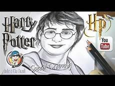 desenhando harry potter speed drawing