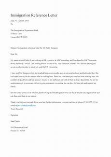 Immigration Letter Of Recommendation For Family Immigration Letter Of Recommendation For Father Letter