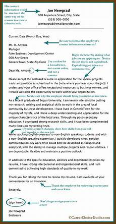 What Should Be On A Cover Letter For A Resumes Sample Cover Letter For A New Graduate