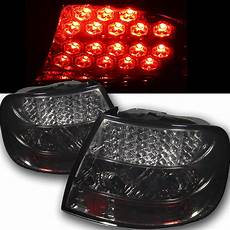 Audi A4 Smoked Lights 96 01 Audi A4 S4 4dr Sedan Euro Style Led Lights