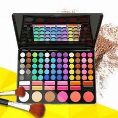 professional 78 colors eyeshadow palette blush lip gloss